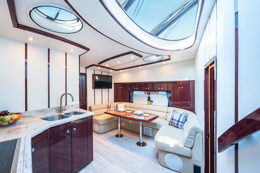 Dining Room in Yacht Photographer for St Catharines