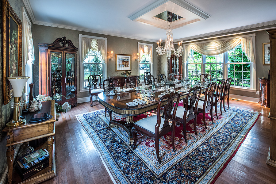 Fine Dinning Room Photographer in St Catharines
