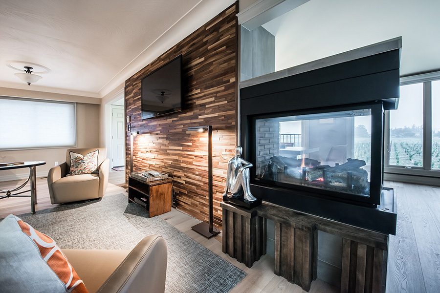 Commercial Properties Fireplace Photographer in St Catharines
