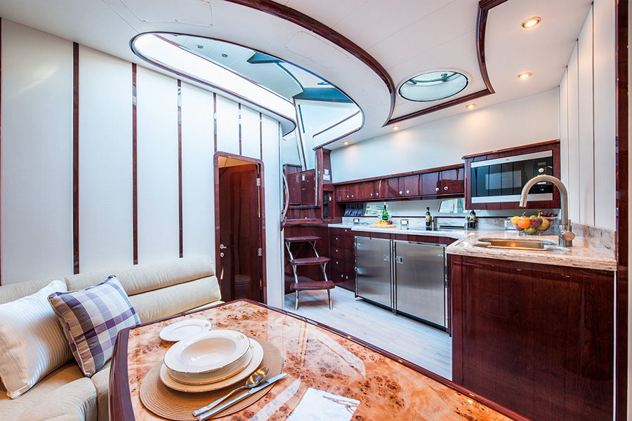 Architectural Photographer in a Niagara Yacht Kitchen