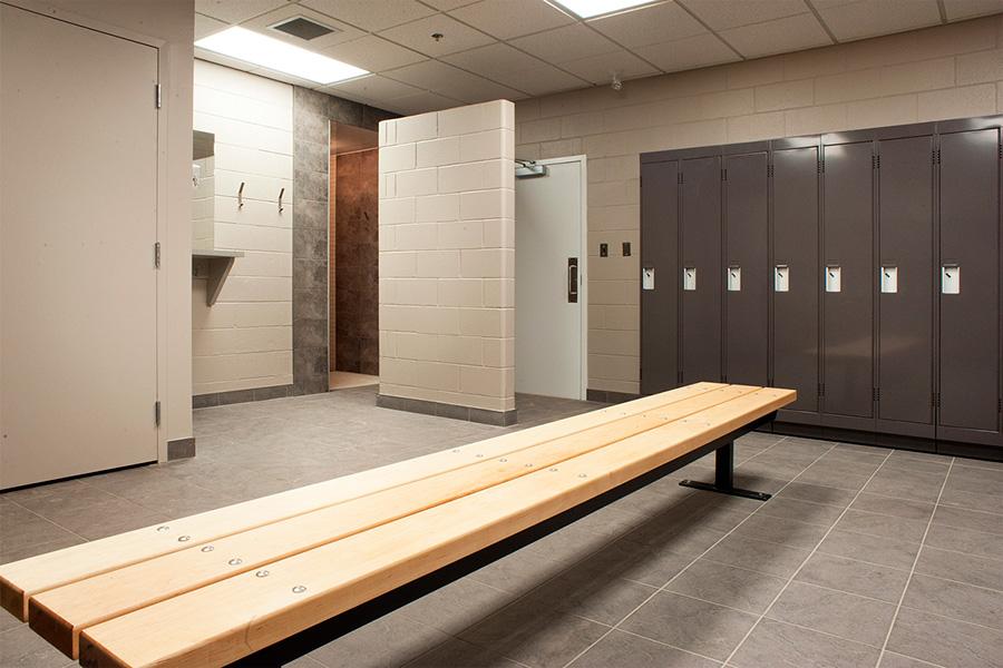 Locker Room Residential Photographer for Niagara
